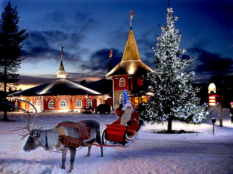 Картинки по запросу фото Нового года в финляндии с дед морозом